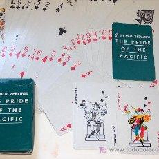 Barajas de cartas: BARAJA DE CARTAS DE POKER CLASICAS CON PUBLICIDAD. Lote 5527428