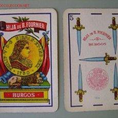 Barajas de cartas: BARAJA HIJA DE B. FOURNIER - BURGOS - COMPLETA - AÑO 1932. Lote 27466144