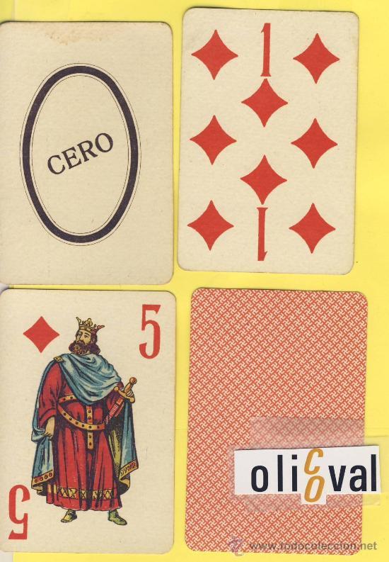 NAIPE.BARAJA.-SIMEON DURA -1888-NAIPES ESPECIALES JUEGO DE LA HUERTA VALENCIANA 74 NAIPES (Juguetes y Juegos - Barajas - Barajas Clásicas)