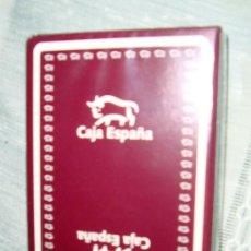 Barajas de cartas: BARAJA, NAIPES FOURNIER, JUEGO DE CARTAS CON PUBLICIDAD DE CAJA ESPAÑA. Lote 27040633