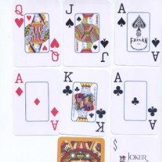 Barajas de cartas: BARAJA DE POKER MARCA FAISAN DE MEXICO. Lote 30412222