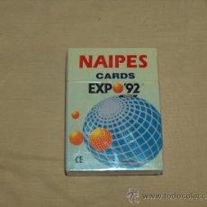 Barajas de cartas: BARAJA DE CARTAS ESPAÑOLA, EXPO 92 SEVILLA, ORIGINALES.. Lote 31778884