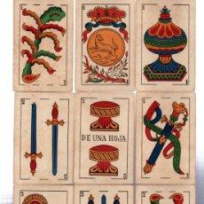 Barajas de cartas: BARAJA MARCA LA LOBA, 40 CARTAS, 1928. Lote 31876320