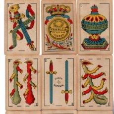 Barajas de cartas: BARAJA FÁBRICA LOS DOS TIGRES, FOURNIER, VITORIA, 40 CARTAS. Lote 31887673