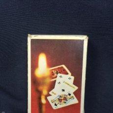 Barajas de cartas: BARAJA NAIPES POKER RUSIA RUSO RUSA 1,8X9X5,8CMS. Lote 60596195