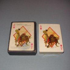 Barajas de cartas: BARAJA NAIPES TAURINA RUANO LLOPIS, CLEMENTE JACQUES 1940 NUEVA PRECINTADA. Lote 62339452