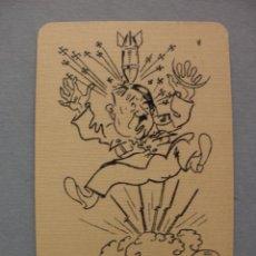Barajas de cartas: BARAJA II GUERRA MUNDIAL L'UNION FAIT LA FORCE, ROOSEVELT, STALIN,CHURCHILL, HITLER, WWII, 1945. Lote 61078959