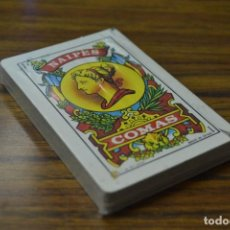 Barajas de cartas: NAIPES COMAS - ESPAÑA - PRECINTADA - UNA OCASIÓN PARA COLECCIONISTAS . Lote 89299036