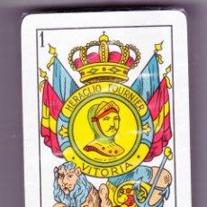 Barajas de cartas: BARAJA ESPAÑOLA HERACLIO FOURNIER 5, CON 50 CARTAS PRECINTADA EN CELOFÁN DE ORIGEN,CARAS CATALANAS. Lote 95455899