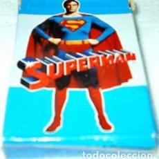 Barajas de cartas: BARAJA DE CARTAS SUPERMAN - FOURNIER 1979 32 CARTAS - SIN USO. Lote 100383523