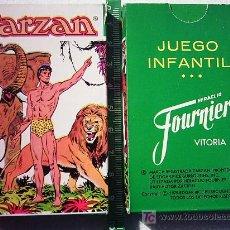 Barajas de cartas: BARAJA NAIPE TARZAN HERACLIO FOURNIER AÑO 1979 A ESTRENAR . Lote 24019973