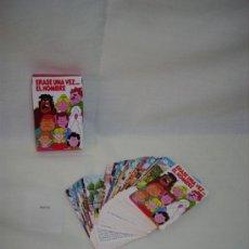 Barajas de cartas: BARAJA DE ERASE UNA VEZ EL HOMBRE. Lote 57209791