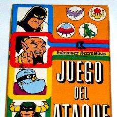 Barajas de cartas: BARAJA INFANTIL EL JUEGO DEL ATAQUE. Lote 27634229