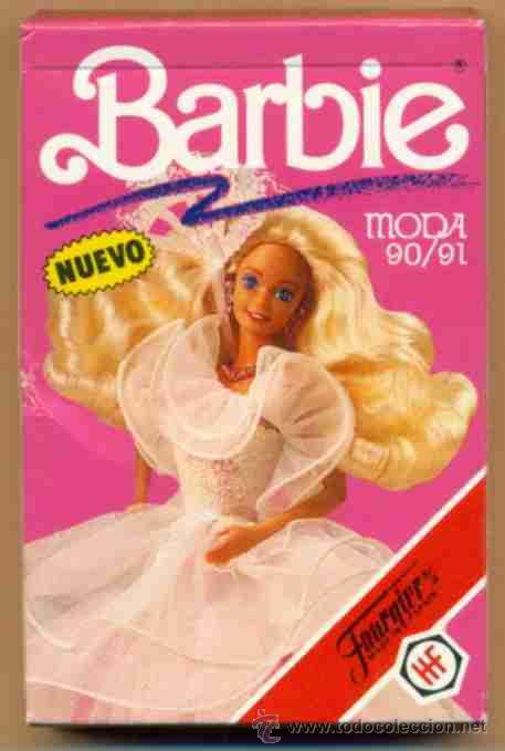 baraja infantil barbie moda heraclio fournier sa