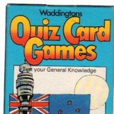 Barajas de cartas: BARAJA INFANTIL QUIZ CARD GAMES, TOUR OF KNOWLEDGE. Lote 30533158