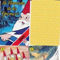 Barajas de cartas: BARAJA INFANTIL LA LLAMADA DE LOS GNOMOS. Lote 103719171