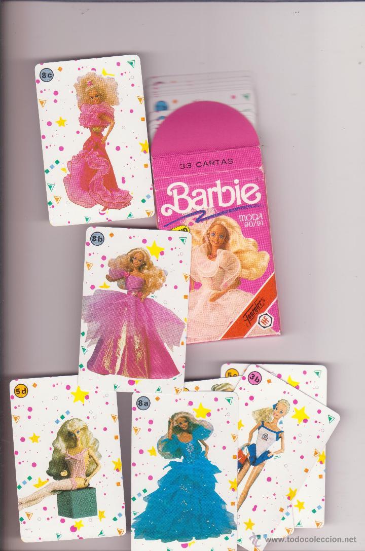 baraja cartas barbie moda completa fournier juguetes y juegos barajas barajas
