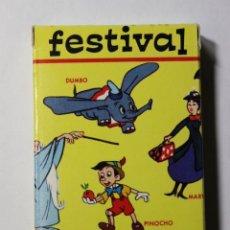 Barajas de cartas: BARAJA INFANTIL FESTIVAS WALT DISNEY 2ª EDICIÓN.. Lote 47111903