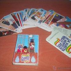 Barajas de cartas: BARAJA DE LA VUELTA AL MUNDO WILLY FOG DE LOS AÑOS 80. Lote 47905766