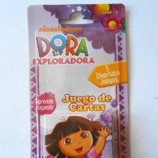 Barajas de cartas: DORA LA EXPLORADORA JUEGO DE CARTAS. Lote 55868414