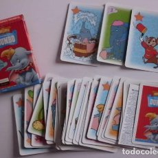 Barajas de cartas: BARAJA DUMBO WALT DISNEY FOURNIER NUEVO DISEÑO. Lote 70287201