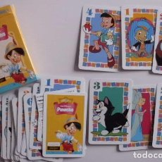 Barajas de cartas: BARAJA PINOCHO WALT DISNEY FOURNIER- NUEVO DISEÑO. Lote 70288597