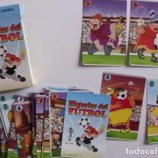 Barajas de cartas: BARAJA HISTORIAS DEL FUTBOL FOURNIER. Lote 70296093