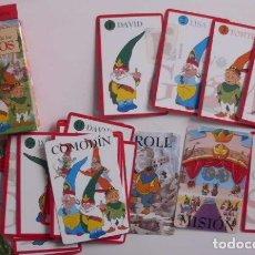 Barajas de cartas: BARAJA EL NUEVO MUNDO DE LOS GNOMOS FOURNIER. Lote 70296809