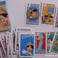 Barajas de cartas: BARAJA PINOCHO WALT DISNEY FOURNIER. Lote 70299481