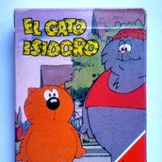 Barajas de cartas: BARAJA INFANTIL EL GATO ISIDORO. Lote 71505059