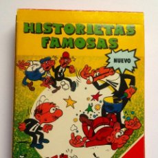 Barajas de cartas: BARAJA INFANTIL HISTORIETAS FAMOSAS. Lote 71506715