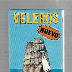Barajas de cartas: BARAJA DE CARTAS. FOURNIER. VELEROS. PRECINTADA. Lote 84193200