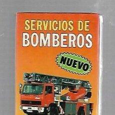 Barajas de cartas: BARAJA DE CARTAS. FOURNIER. SERVICIO DE BOMBEROS. PRECINTADA. Lote 84194712