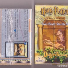 Barajas de cartas: CARTAS HARRY POTTER TRADING CARDS PRECINTADAS. Lote 98481559