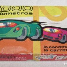 Barajas de cartas: BARAJA INFANTIL JUEGO CARTAS 1000 KILOMETROS FOURNIER . Lote 96023147