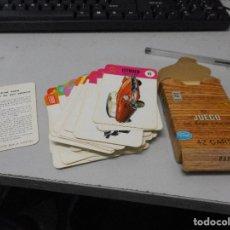 Barajas de cartas: BARAJA EL JUEGO DE LOS COCHES TODO COMPLETO Y EN BUEN ESTADO. Lote 98060683