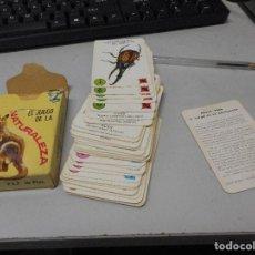 Barajas de cartas: BARAJA EL JUEGO DE LA NATURALEZA COMPLETO BUEN ESTADO. Lote 98060743