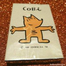 Barajas de cartas: BARAJA PRECINTADA COBI BARCELONA 92 (HERACLIO FOURNIER). AÑOS 80 DEPORTES OLIMPIADAS COLECCIONISMO. Lote 98568583