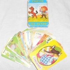 Barajas de cartas: BARAJA FOURNIER PAREJAS DEL MUNDO. Lote 98644199