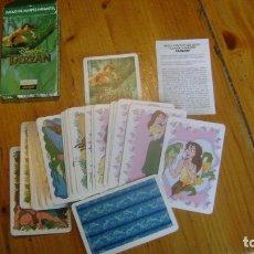 Barajas de cartas: BARAJA TARZAN FOURNIER VER FOTO. Lote 98708507