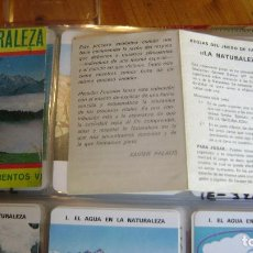Barajas de cartas: BARAJA LA NATURALEZA FOURNIER VER FOTOS Y DESCRIPCION. Lote 98708663