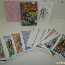 Barajas de cartas: BARAJA INFANTIL HERACLIO FOURNIER EL CAPITÁN TRUENO. Lote 98712904