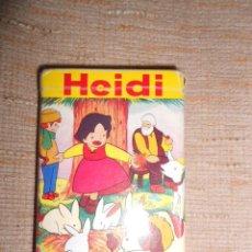 Barajas de cartas: BARAJA DE CARTAS COMPLETA HEIDI LAS 4 ESTACIONES MARCA FOURNIER 1975. Lote 100867659