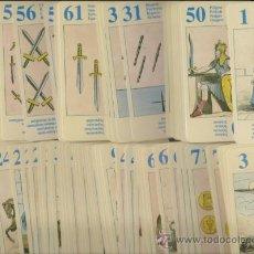 Barajas de cartas: BARAJA DE TAROT EGIPCIA 79 CARTAS PERFECTAS. Lote 36566460