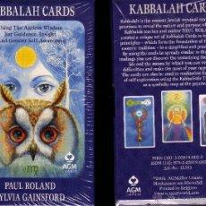 Barajas de cartas: KABBALAH CARDS. Lote 100517864