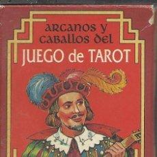 Barajas de cartas: BONITA BARAJA DE COLECCION DE ARCANOS Y CABALLOS DEL JUEGO DEL TAROT DE FOURNIER VER FOTOS. Lote 46338306