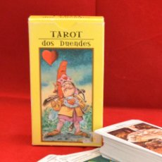 Barajas de cartas: BARAJA TAROT DOS DUENDES RBA 1990. Lote 55934573