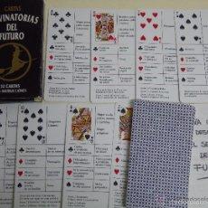 Barajas de cartas: CARTAS ADIVINATORIAS DE FUTURO. Lote 59724799