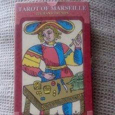 Barajas de cartas: BARAJA DEL TAROT MARSELLÉS 22 ARCANOS MAYORES. Lote 77674425