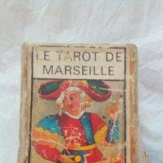 Barajas de cartas: TAROT DE MARSELLA , EL VERDADERO 78 CARTAS (ANTIGUA). Lote 80599159